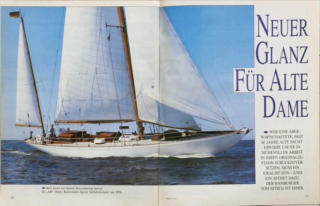 Die Yacht S1