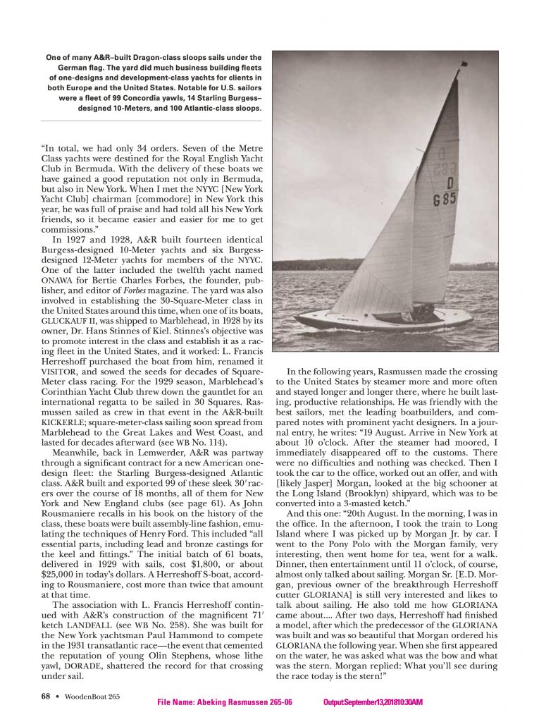 WoodenBoat S5