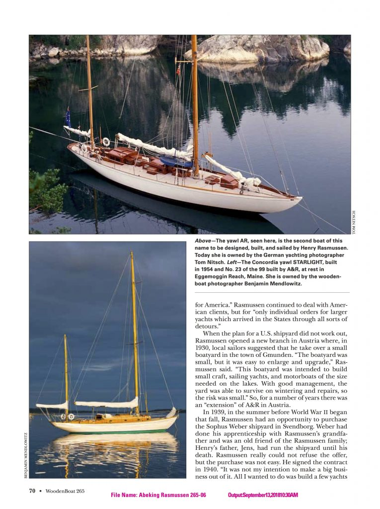 WoodenBoat S7
