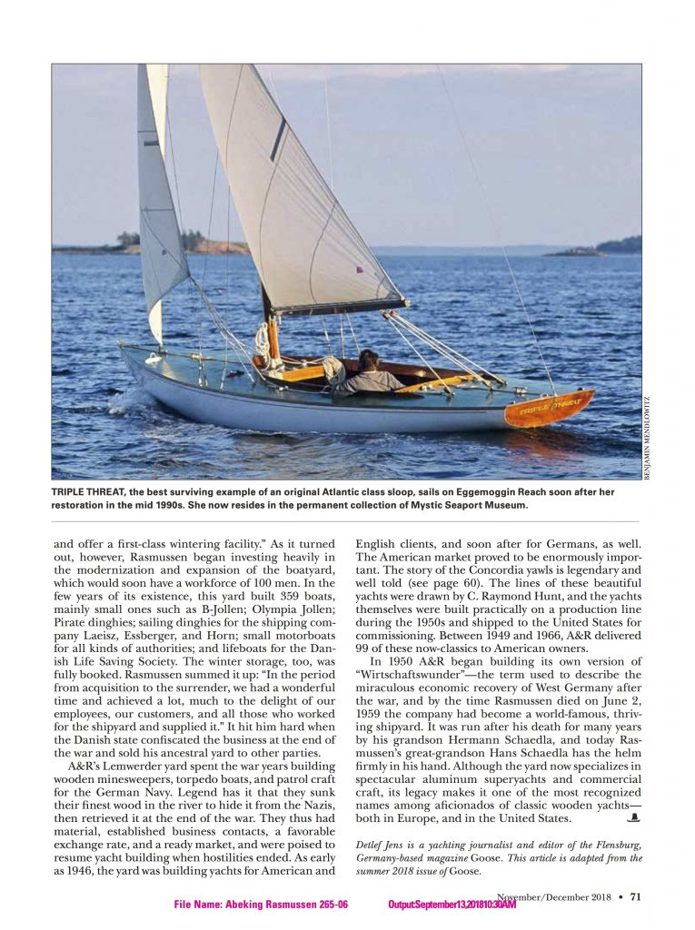WoodenBoat S8
